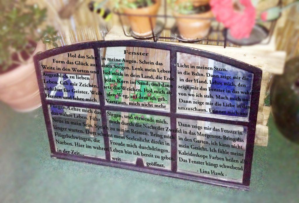 Fensterspiegel Textplanung